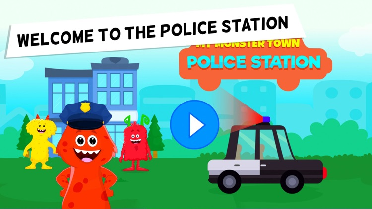 My Monster Town - Police Games screenshot-0