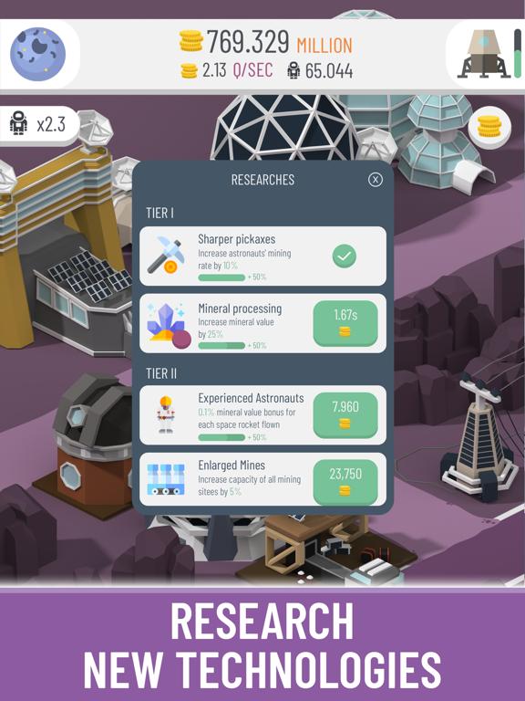 Space Colony: Idle screenshot 5