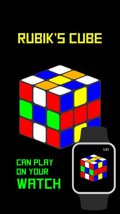 Rubik's Cube 3D: Watch & Phone screenshot 1