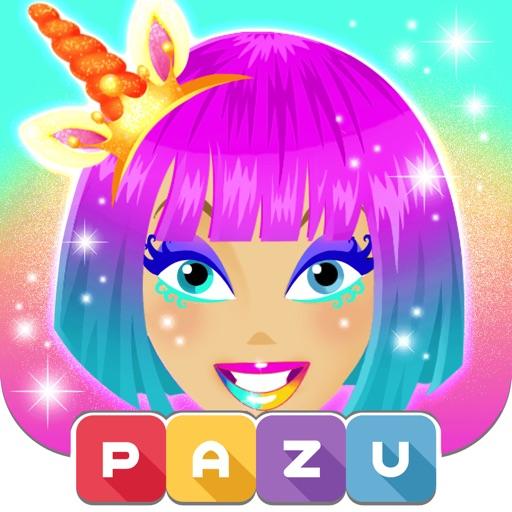 Makeup girls unicorn dress up