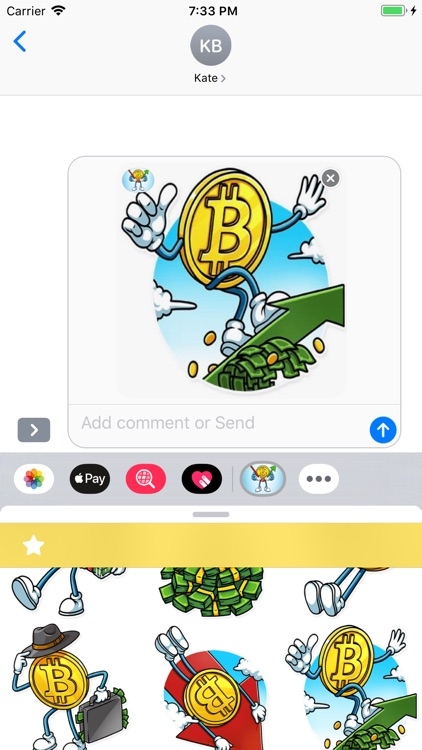 Bitcoin Stickers Pack screenshot-3