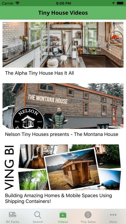 Tiny House Parks & Tiny Living