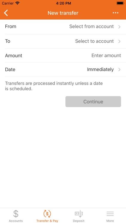 Oconee Federal Mobile Banking screenshot-4