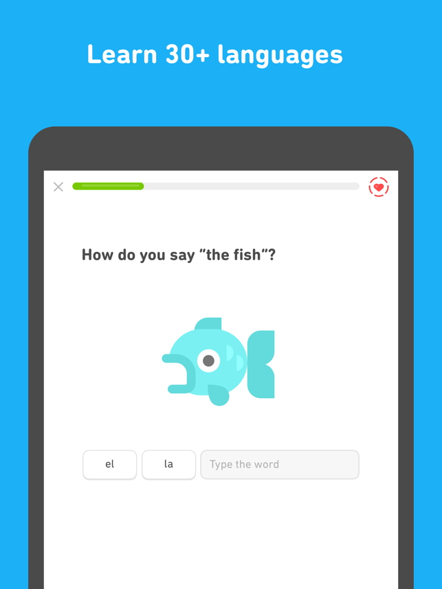 ‎Duolingo Screenshot