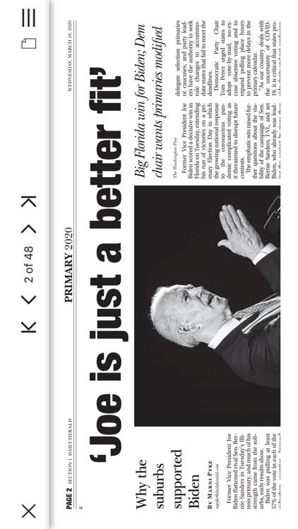 Daily Herald E-edition screenshot-3