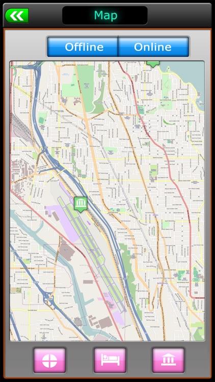 Seattle Offliine Map Guide screenshot-3
