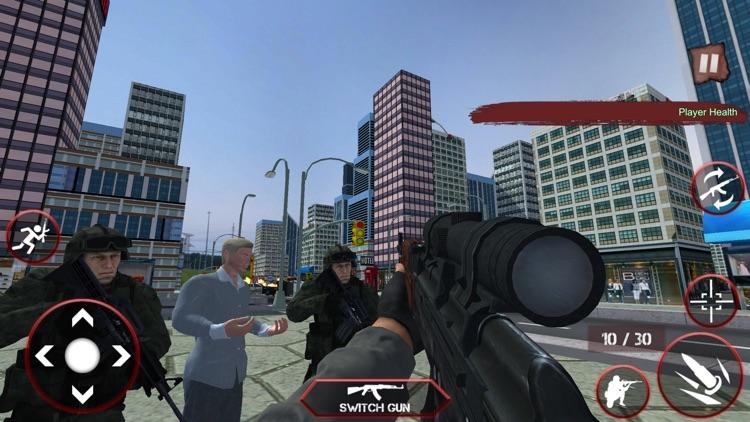 Sniper Assassin Gun Shooter 3D screenshot-3