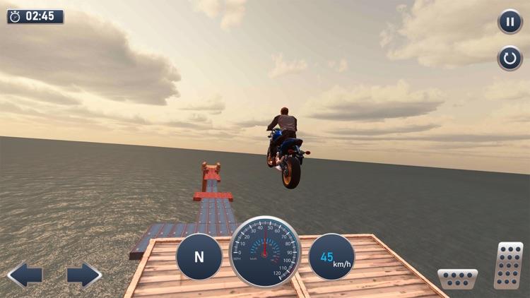Moto Bike Mega Track Stunts screenshot-3