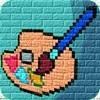 涂色游戏快乐版:数字3d立体画画游戏