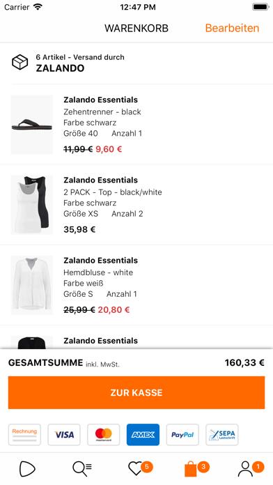 Herunterladen Zalando - Shopping und Fashion für Android