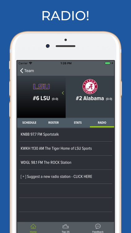 LSU Football Schedules