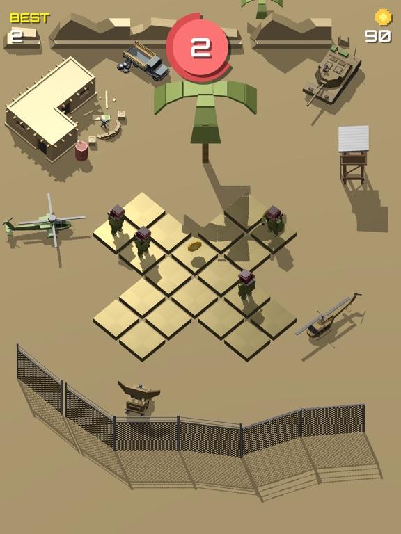Pixel 3D - Soldier Gamesのおすすめ画像3