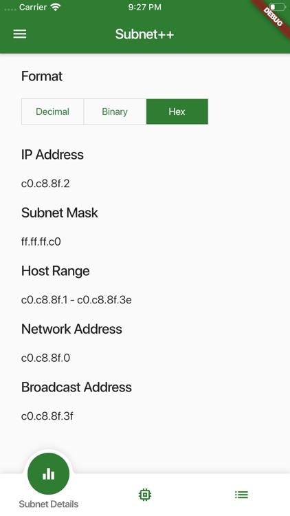 Subnet++ screenshot-3
