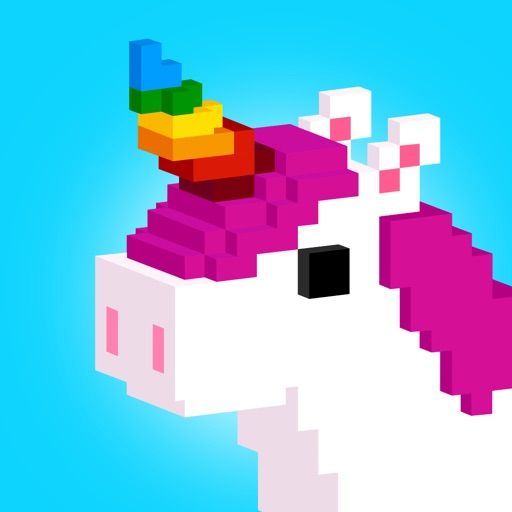 UNICORN 3D: Color by Number