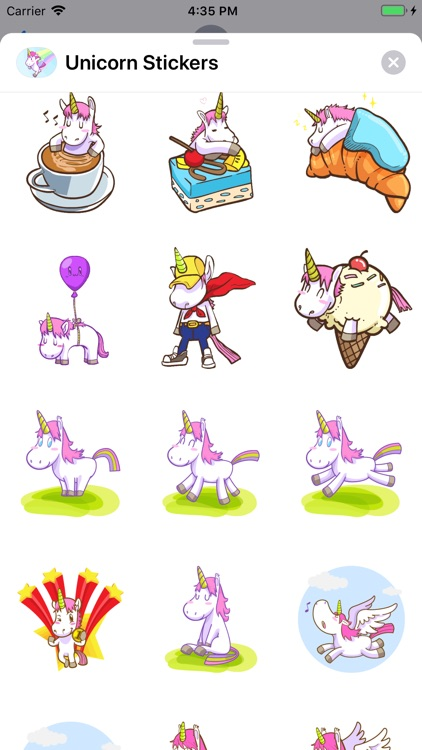 Unicorn Stickers ⋆ screenshot-3
