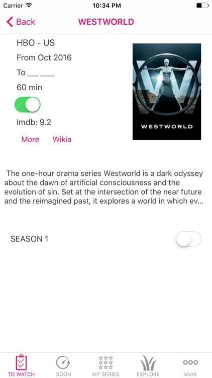 Best TV Shows Tracker