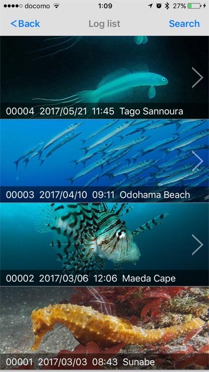 Diving Log screenshot-4