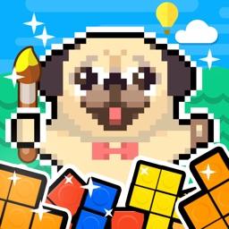 Pet Home Design & Pixel Puzzle