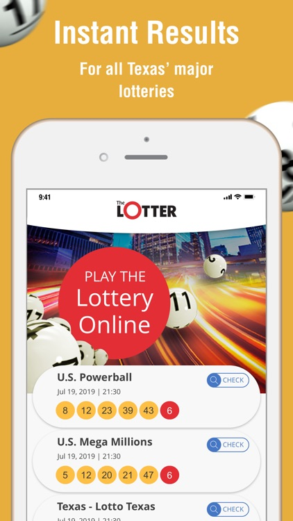 theLotter Texas Play Lottery screenshot-0