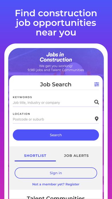 Construction Jobs screenshot three