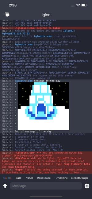 Igloo IRC