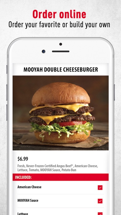 Mooyah Rewards review screenshots