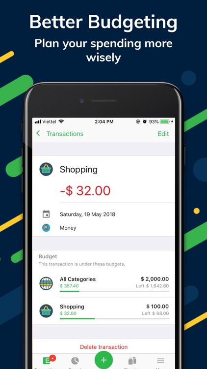 Money Lover +: Expense Tracker screenshot-4