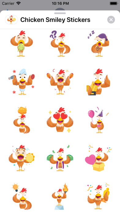 Chicken Smiley Stickers App Download - Stickers - Android Apk App Store