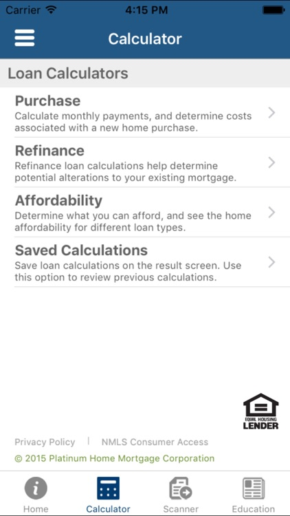Platinum Home Mortgage (PHMC)