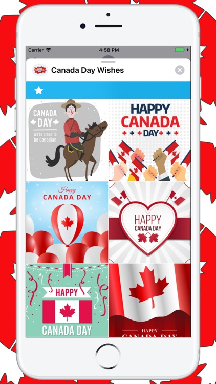 Canada Day Wishes screenshot-4