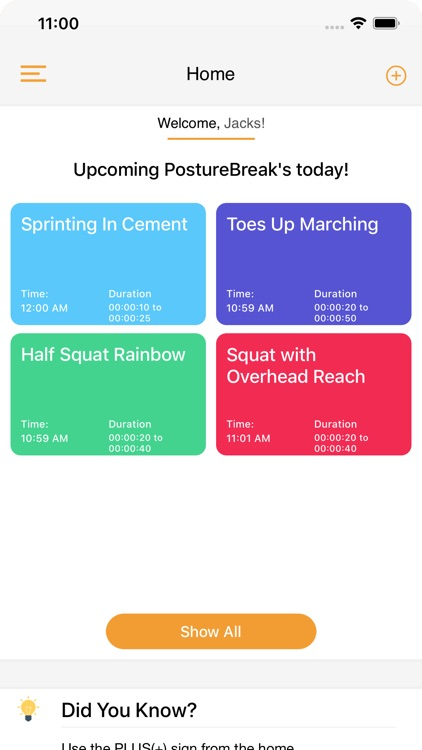 The PostureBreak App screenshot-3