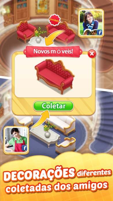Screenshot for Matchington Mansion in Portugal App Store