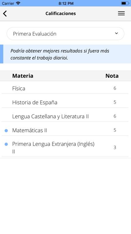 Pincel Alumnado y Familias screenshot-6