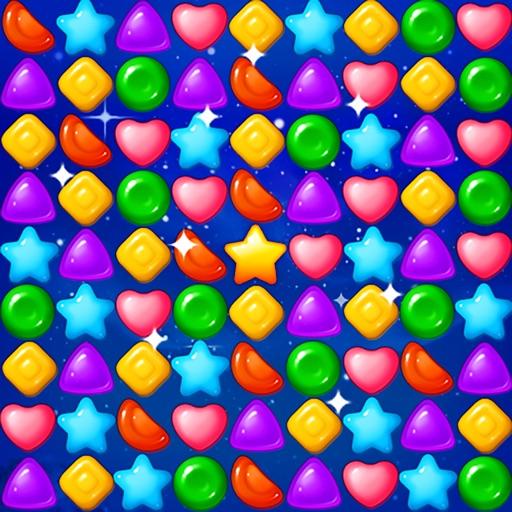 Jelly Star Night - Match 3