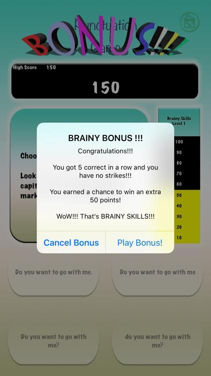 Brainy Skills Punctuation screenshot-5