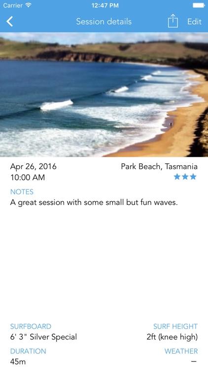 SurfTrackr: Surfing Journal