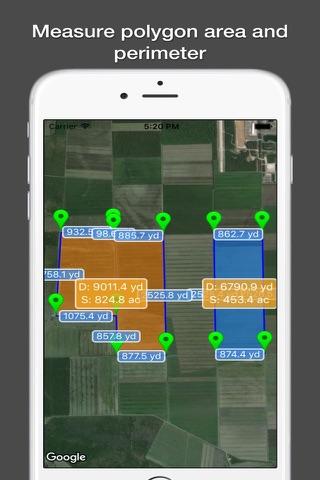 Planimeter Pro for map measure - náhled