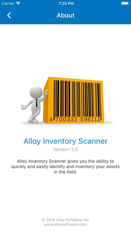 Alloy Inventory Scanner screenshot-7