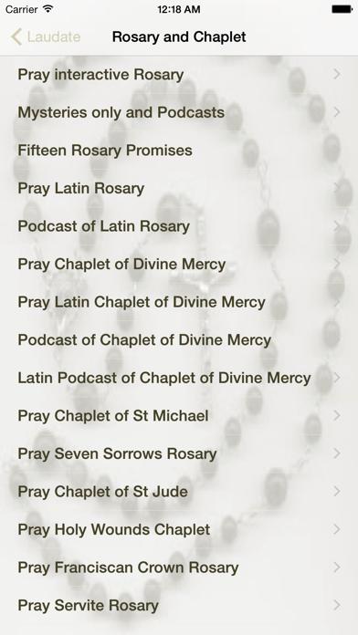 Screenshot for Laudate - #1 Catholic App in Greece App Store