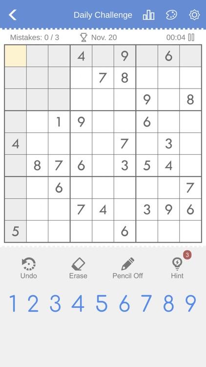 Sudoku - Brain Puzzle Games screenshot-6