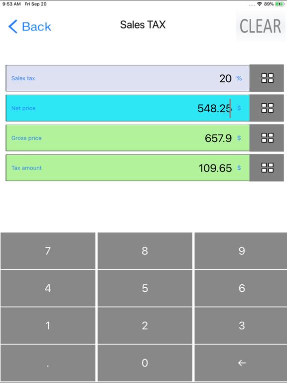 Percent, Percentage Calculator screenshot 12
