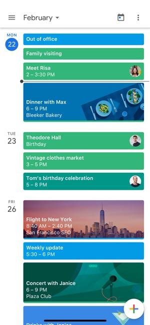 Google Calendar on the App Store