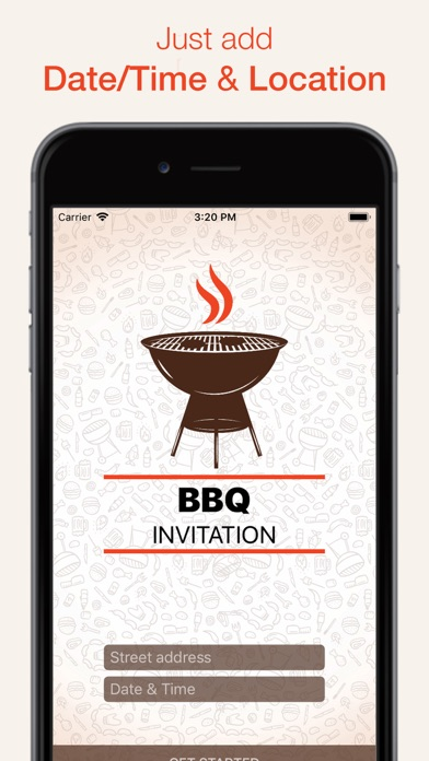 BBQ Invitation screenshot 1