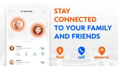 Onlook: Trova Famiglia e Phone screenshot one