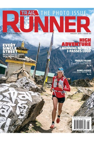 Trail Runner Magazine - náhled