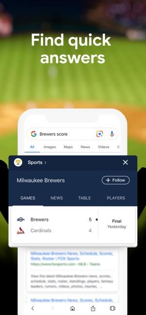 Google on the App Store