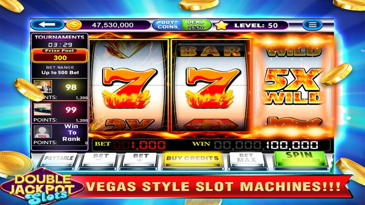 Double Jackpot Slots Las Vegas screenshot-4