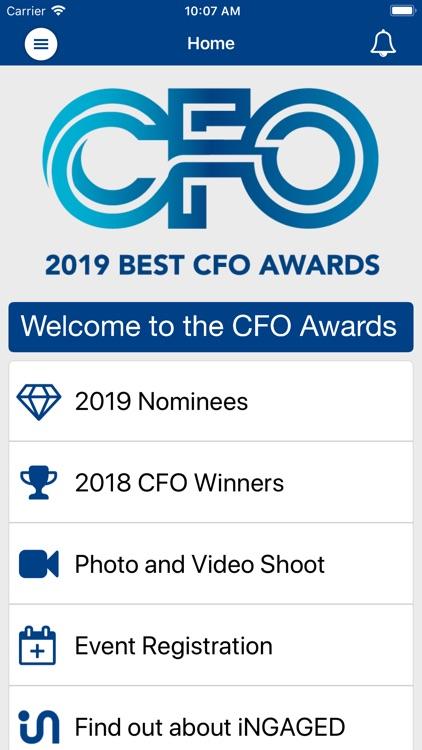 CFO Awards by iNGAGED