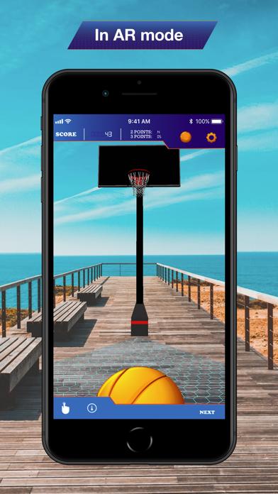 Hoops AR BasketBall Hard Mode screenshot 4