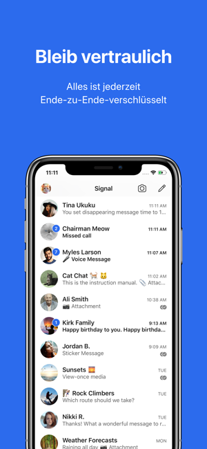 ?Signal – Sicherer Messenger Screenshot